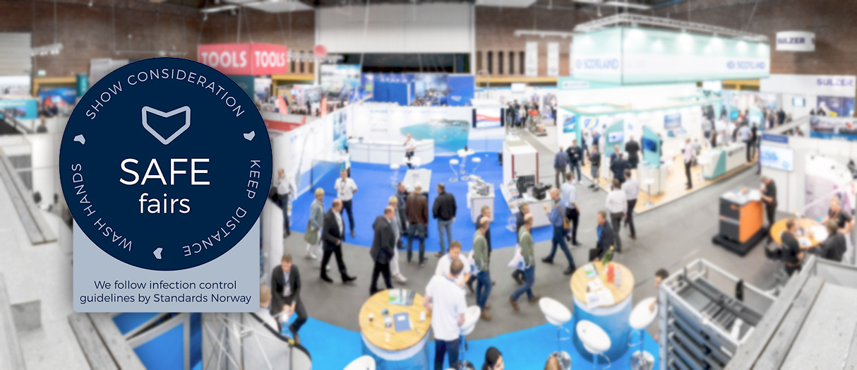 Safe participation – Aqua Nor follows infection control guidelines for trade fairs